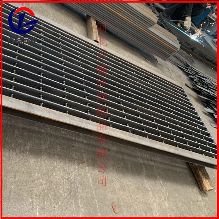 六畅焊接不锈钢插接排水沟盖板漏水钢格栅板雨水篦子