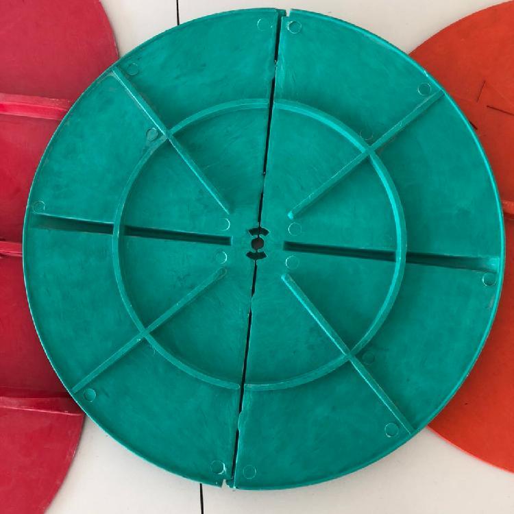 广东 玻璃钢美化罩 高压线路防鸟盘 生产