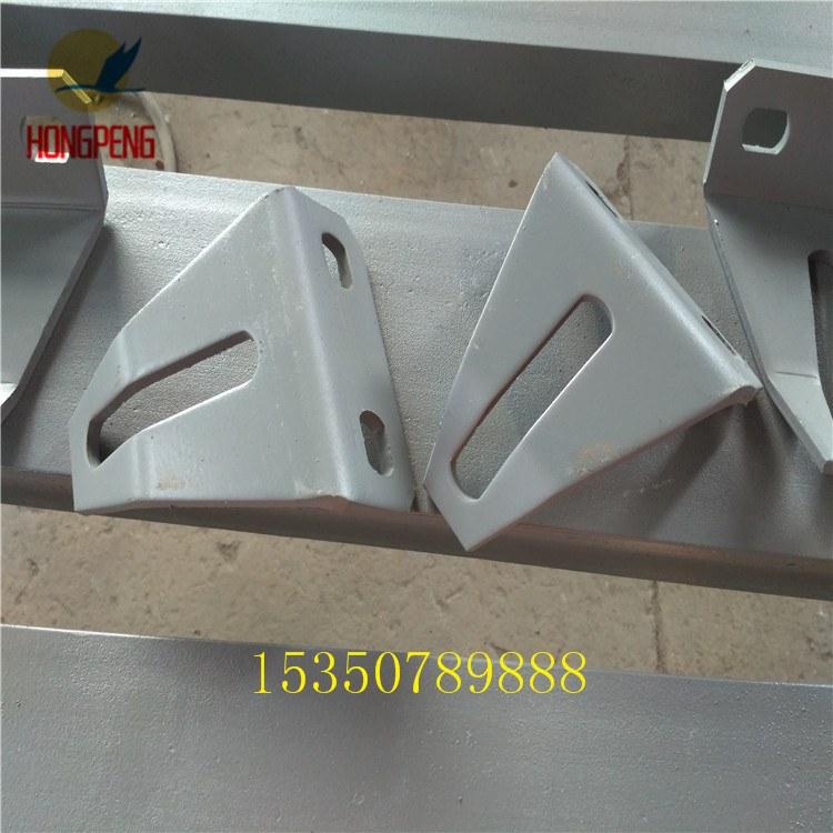 沧州鸿鹏500型 输送机托辊支架 槽型托辊组整支架质保
