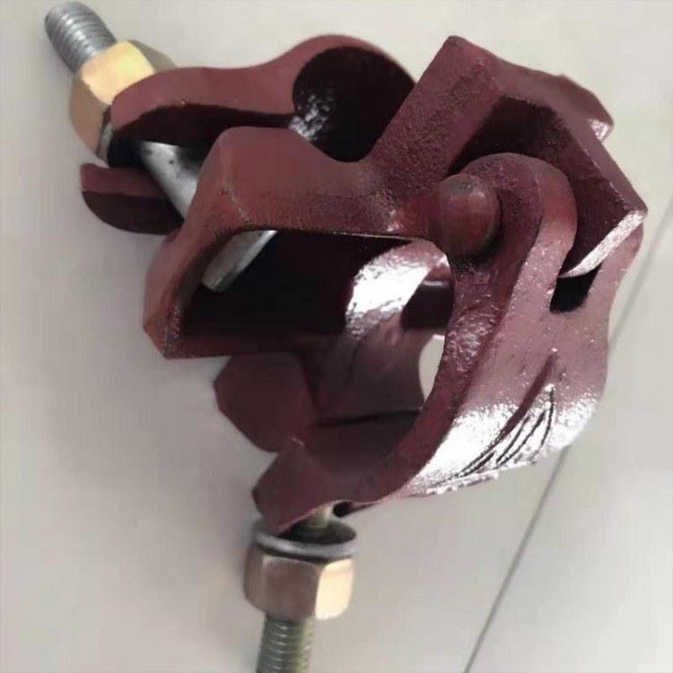 建筑专用各种规格十字扣件建筑脚手架扣件架子管连接扣