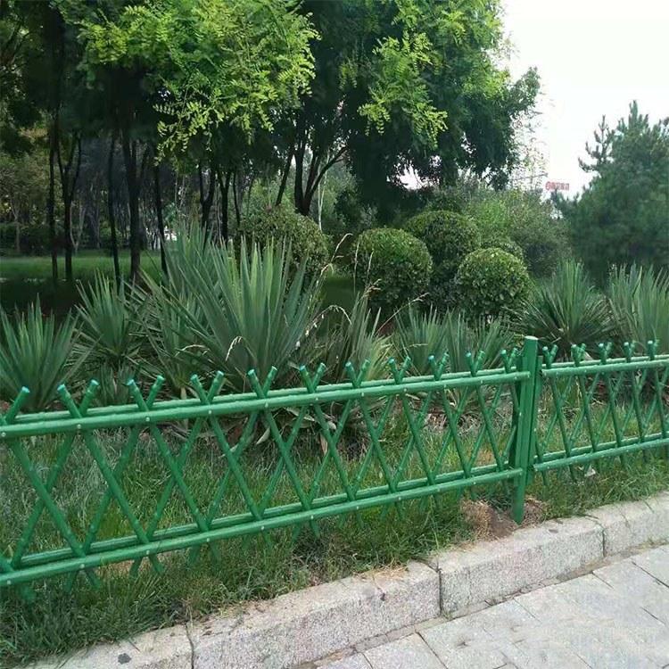 供应园林仿竹护栏 竹节篱笆围栏 不锈钢仿竹隔离栅栏 厂家订做