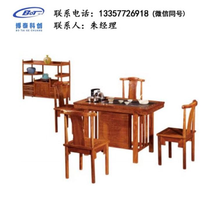 厂家直销 新中式家具 古典家具 新中式茶台 古典茶台 刺猬紫檀茶台 GF-16定制