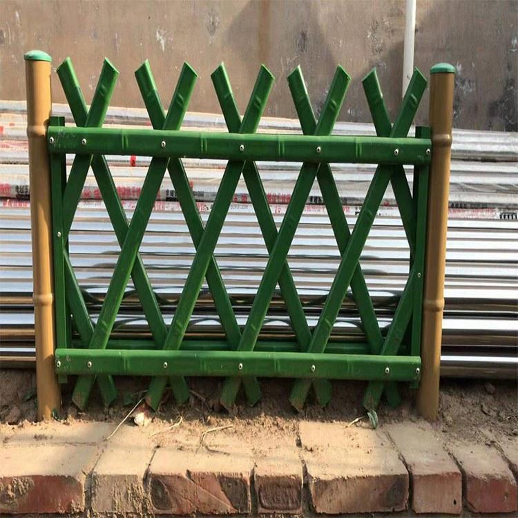 广州世腾 景区水泥仿竹护栏 河道水泥仿竹篱笆护栏 篱笆围栏