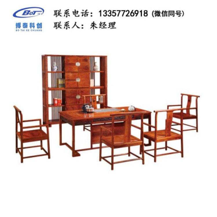 厂家直销 新中式家具 古典家具 新中式茶台 古典茶台 刺猬紫檀茶台 GF-04
