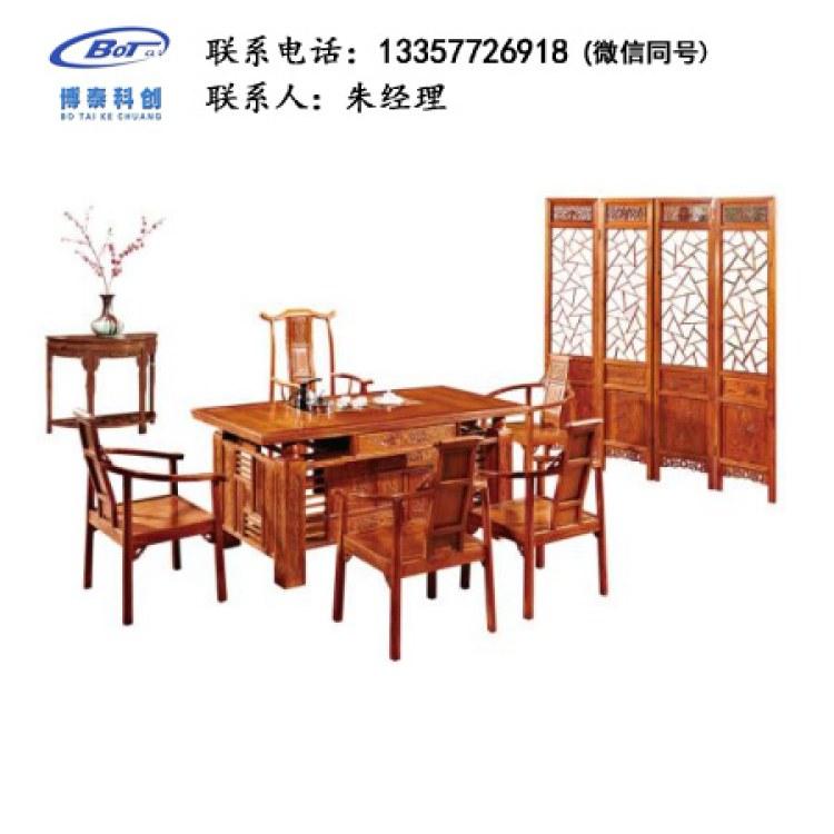 厂家直销 新中式家具 古典家具 新中式茶台 古典茶台 刺猬紫檀茶台 GF-34定制