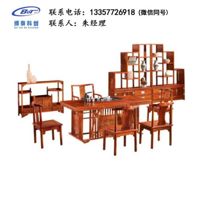 厂家直销 新中式家具 古典家具 新中式茶台 古典茶台 刺猬紫檀茶台 GF-08