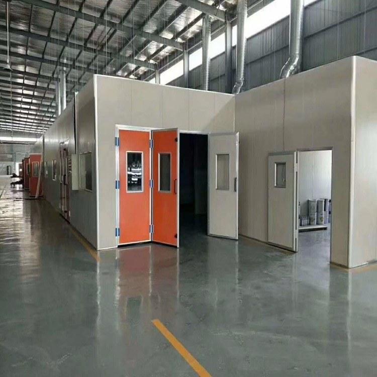 家旭环保大量供应各种型号的家具烤漆房喷漆房