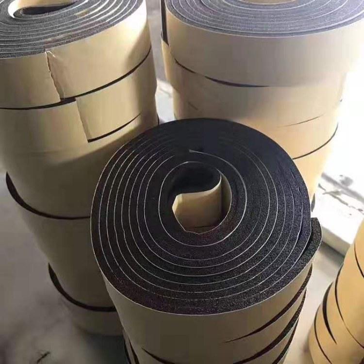 厂家现货批发 阻燃密封胶条 自粘型橡塑海绵密封胶条 耐高温橡塑胶条
