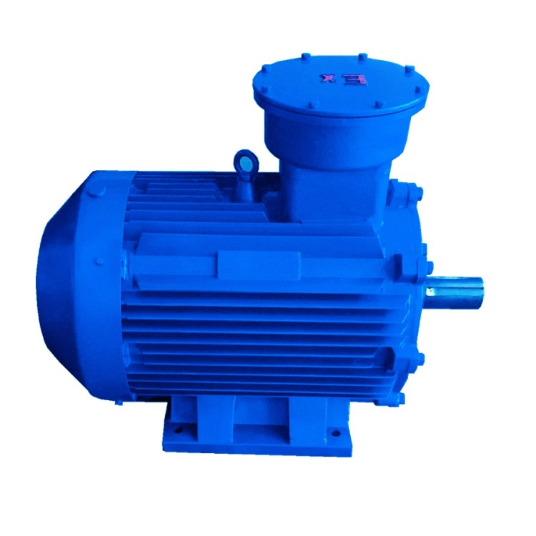 江苏高科  5.5KW防爆电机  YB3-132S-6极  隔爆型三相异步电动机  三级能效
