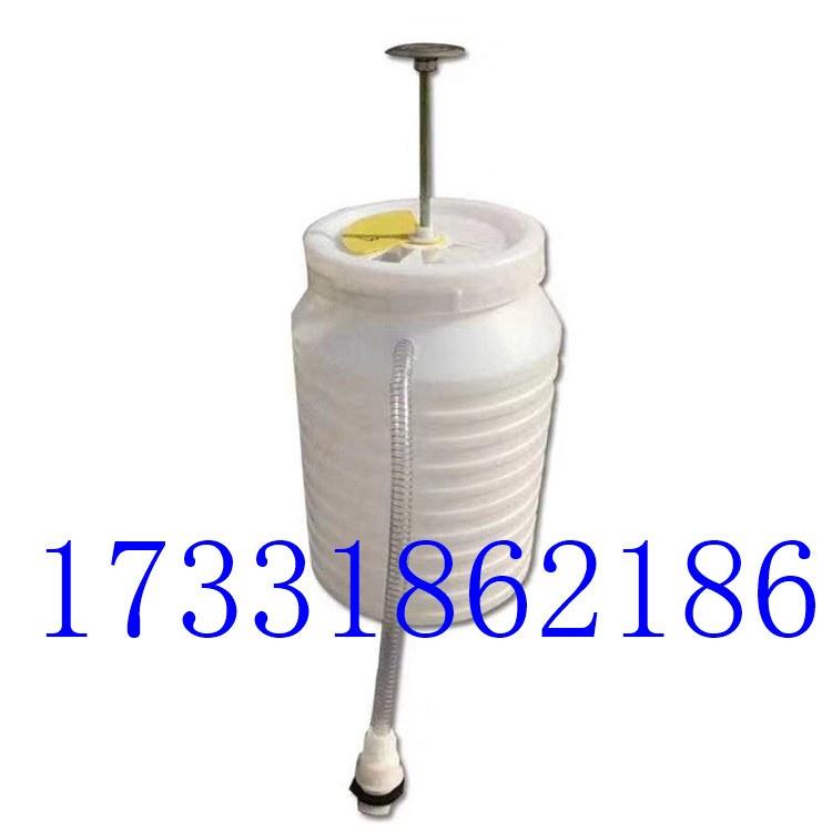 河厂家直销 旱厕 改造冲厕桶 冲厕器 冲水桶 高压脚踏式压力水桶#35升压力水桶¥水桶多少钱一个??