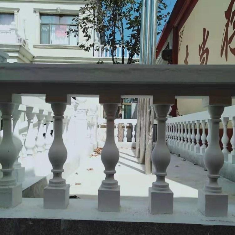 水泥花瓶柱GRC园林围栏水泥构件欧式构件罗马柱 欧式装饰 承包大工程