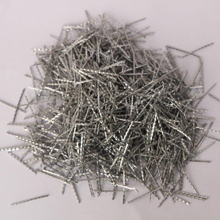 端钩成排钢纤维 重型工业专用钢纤维 隧道专用钢纤维 5D钢纤维