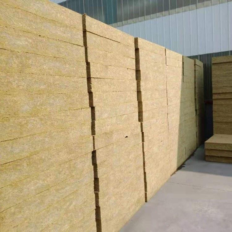 中创高圣佳厂家直销生产销售高密度玄武岩棉板 外墙憎水岩棉板 A级防火岩棉保温板