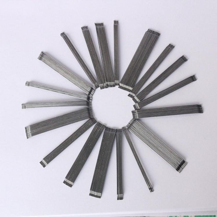 混凝土用端钩钢纤维 防渗施工钢纤维 工厂地坪专用钢纤维 4D钢纤维