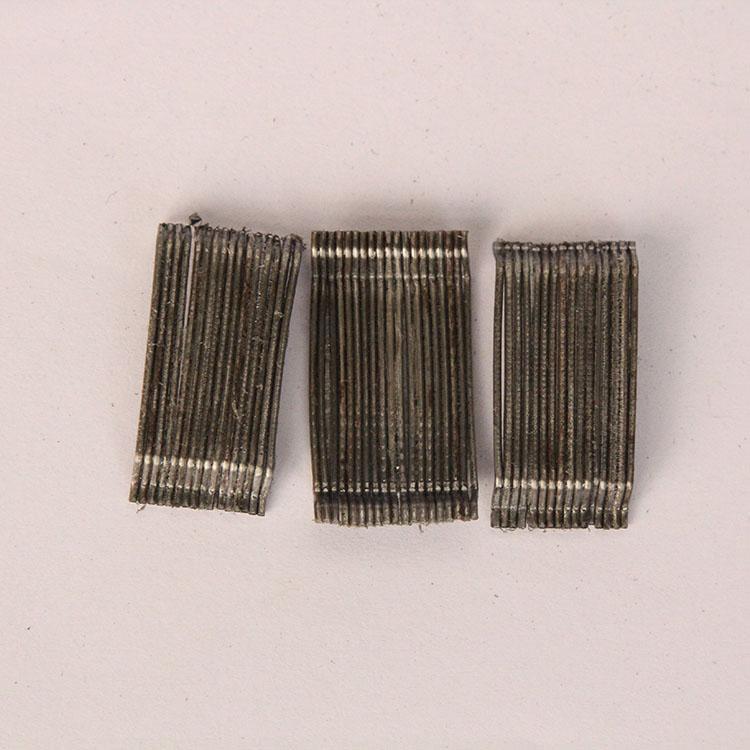 高强度端钩钢纤维 护坡专用钢纤维 物流仓储钢纤维 3D  80/60BG