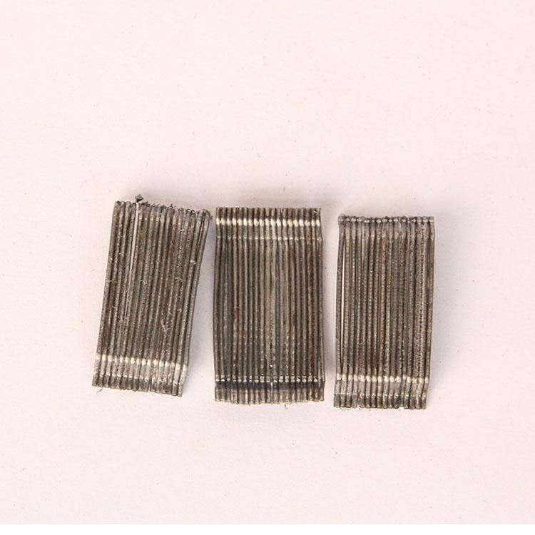 钢纤维 护坡专用钢纤维 桥面铺装专用钢纤维 3D  50/35BG