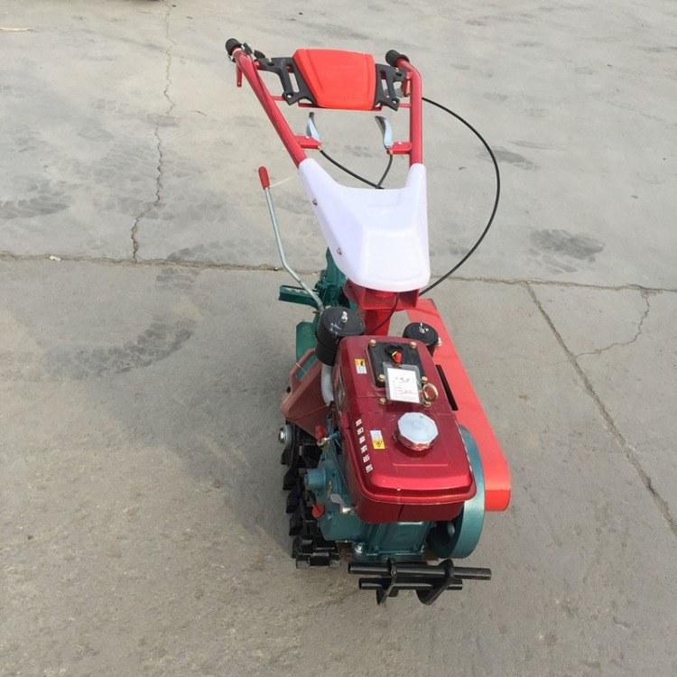 富强 汽油式施肥播种机 手推式玉米播种机 玉米小麦施肥机