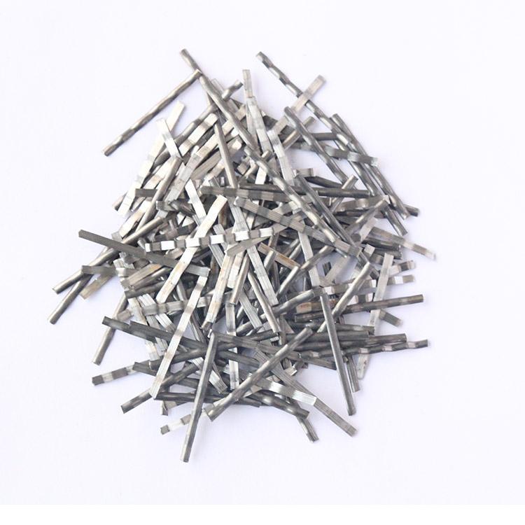 高强度端钩钢纤维 工业园区专用钢纤维 物流仓储钢纤维 3D  40/25BG
