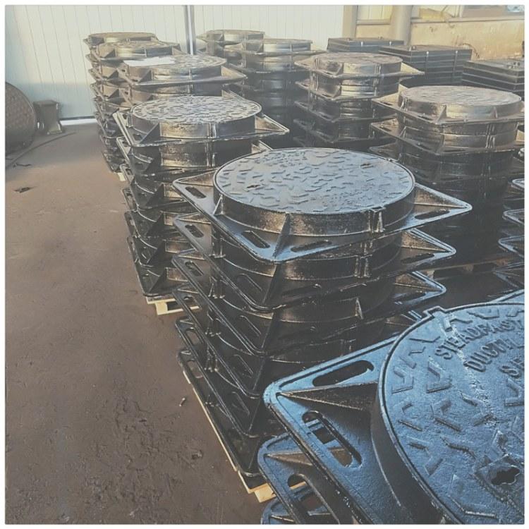 厂家现货重型球墨铸铁井盖,市政球墨铸铁井盖,厂家直销 质量保证