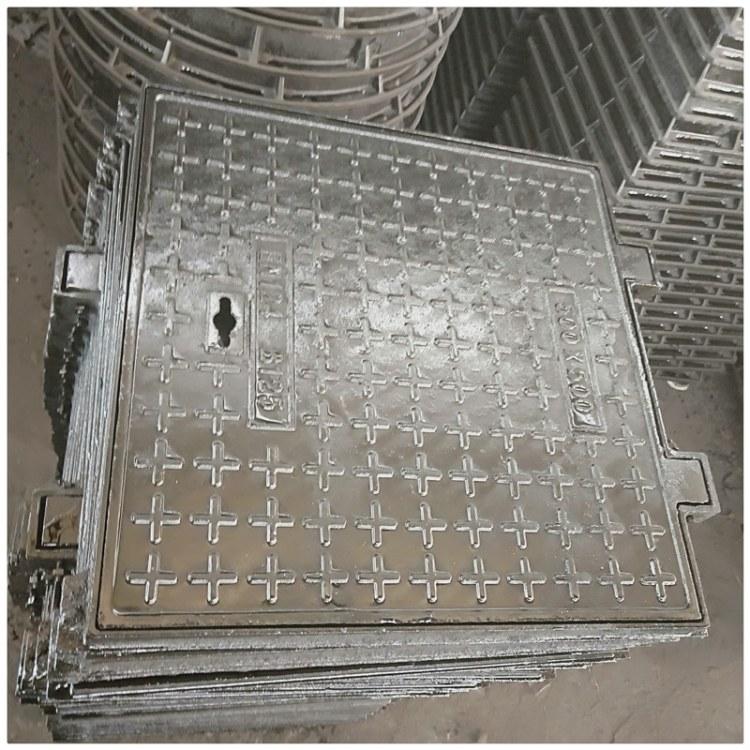 供应优质方形球墨铸铁井盖,DN700球墨铸铁井盖,现货直发 质优价廉