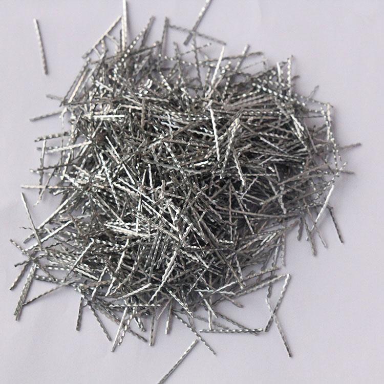 剪切型钢纤维 人防工程专用钢纤维 道路伸缩缝钢纤维 5D钢纤维