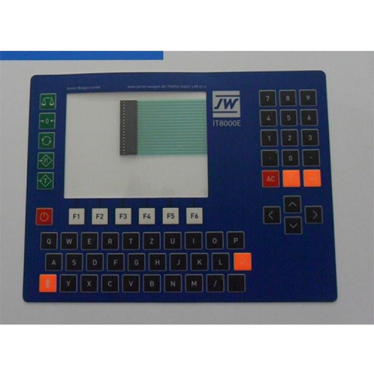 薄膜开关面板防水耐高低温薄膜开关定做厂家