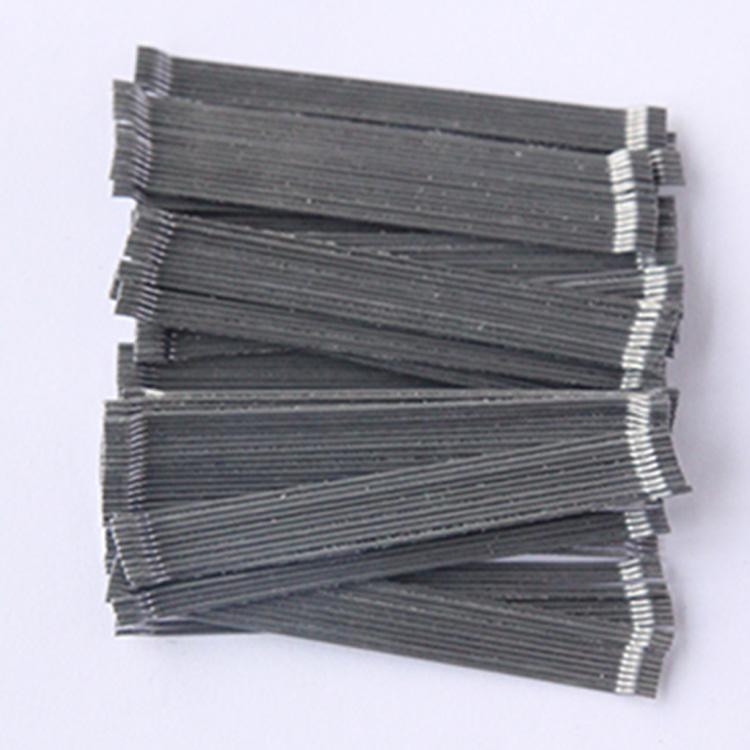 剪切型钢纤维 物流仓储钢纤维 支护坡道钢纤维 3D  50/35BG