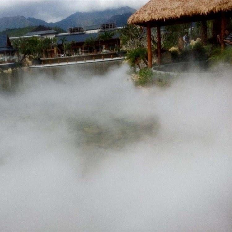 永创嘉辉煤矿场造雾除尘设备 工地除尘喷雾