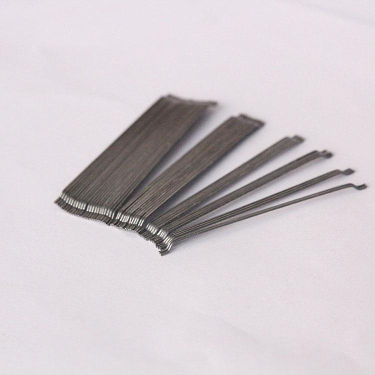 高强度端钩钢纤维 工业厂房专用钢纤维 道路伸缩缝钢纤维 3D  50/30BG