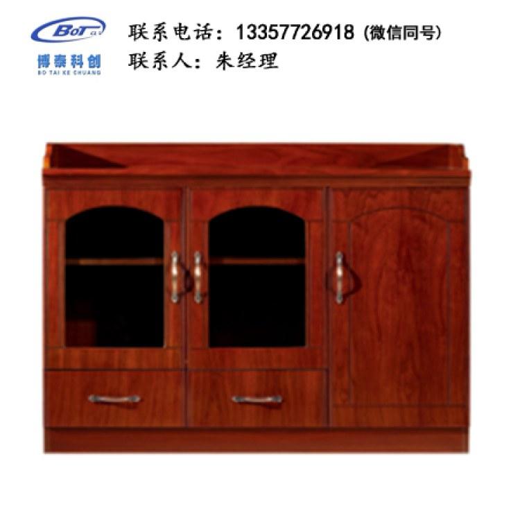 办公休息室茶水柜实木备餐茶水柜饭店餐厅储物南京卓文办公家具KJ-02