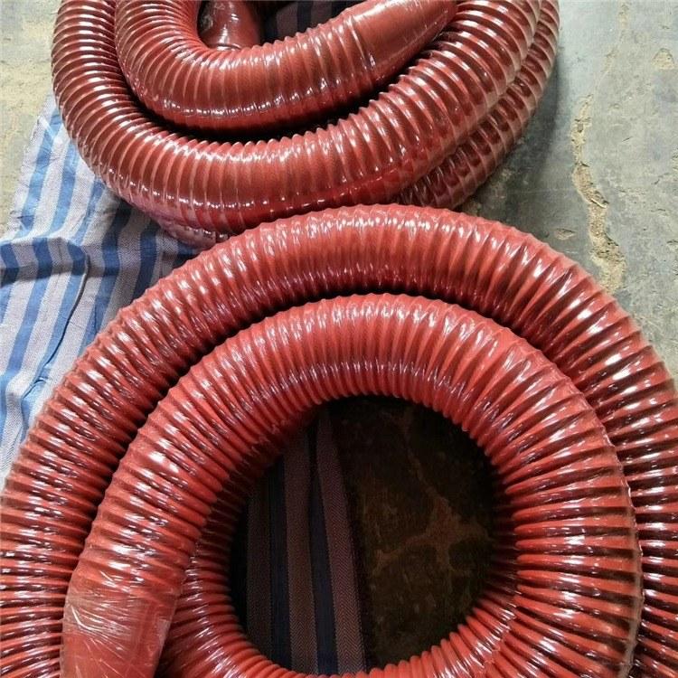 加工定制耐高温尼龙布伸缩软管  优质耐磨管道用防尘伸缩软管 型号齐全