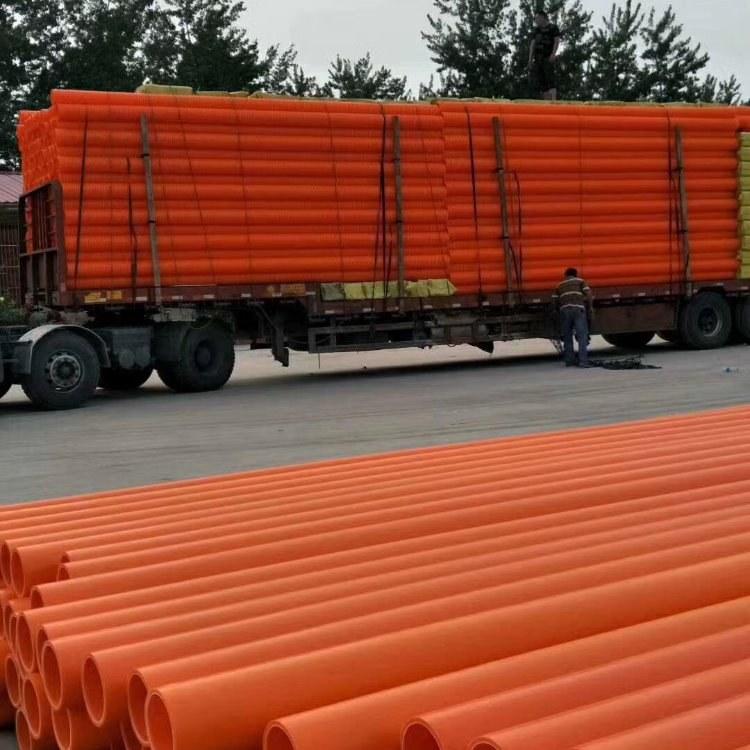 MPP高压电力管 非开挖顶管施工 直埋纯原料电缆保护管 磊泰厂家现货供应