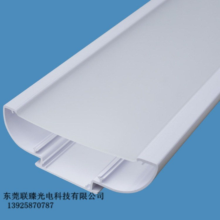 PC管 PC双色管 大尺寸挤出型三防灯灯罩 异型材厂家定制