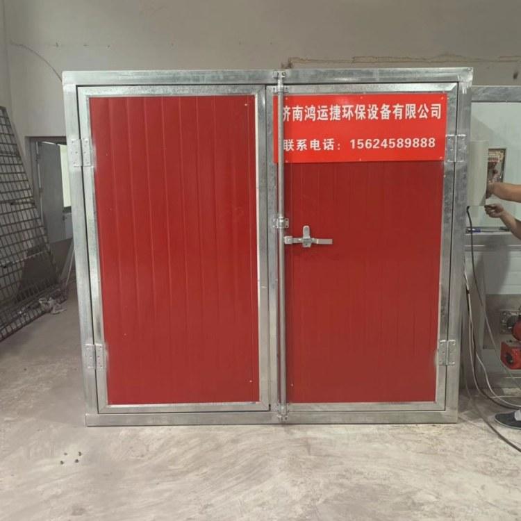 鸿运捷 喷塑设备烤箱高温烤漆房 固化房高温烤漆房固化炉喷塑粉涂设备