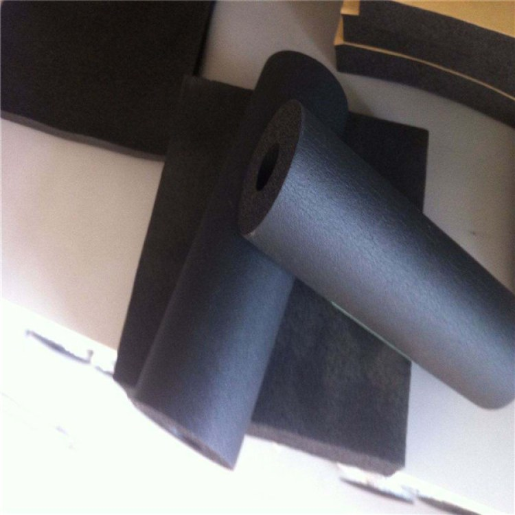 河北皎阳橡塑管B1级阻燃隔热空调橡塑管  管状防火防水防潮保温管道