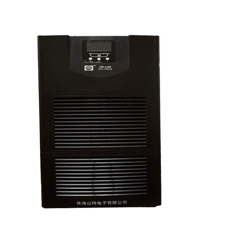 山特ups厂家直销ATA珠海山特C10KS液晶显示机房UPS电源