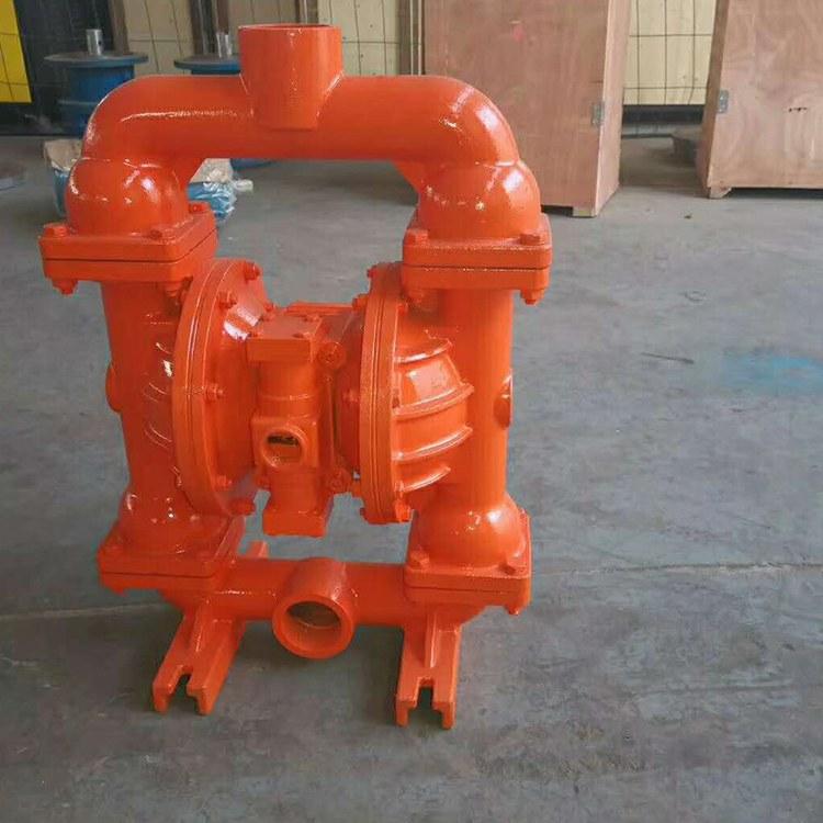 程煤矿用气动隔膜泵 BQG200型矿用防爆隔膜泵直销