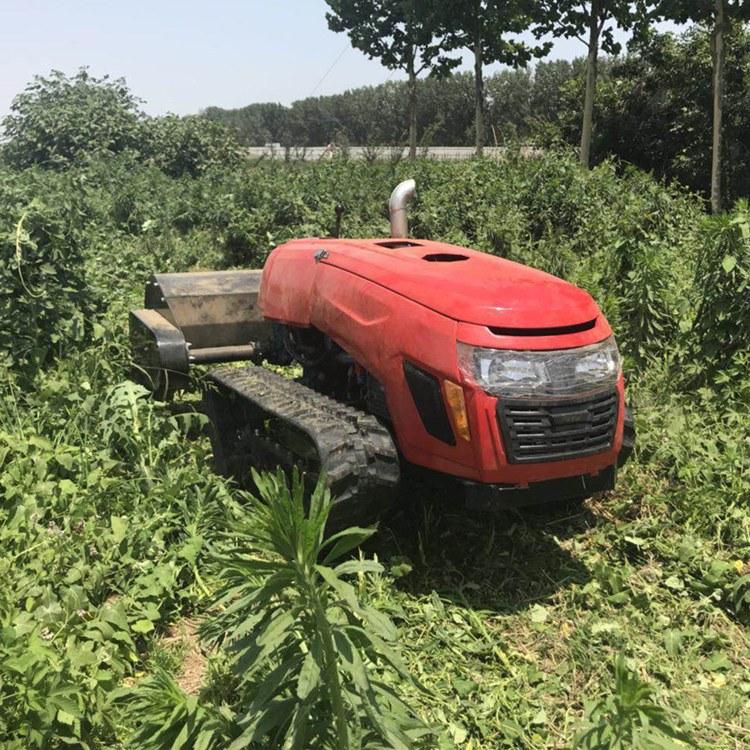 浩鸿小型旋耕机 果园遥控式旋耕机在各领域发挥重要作用