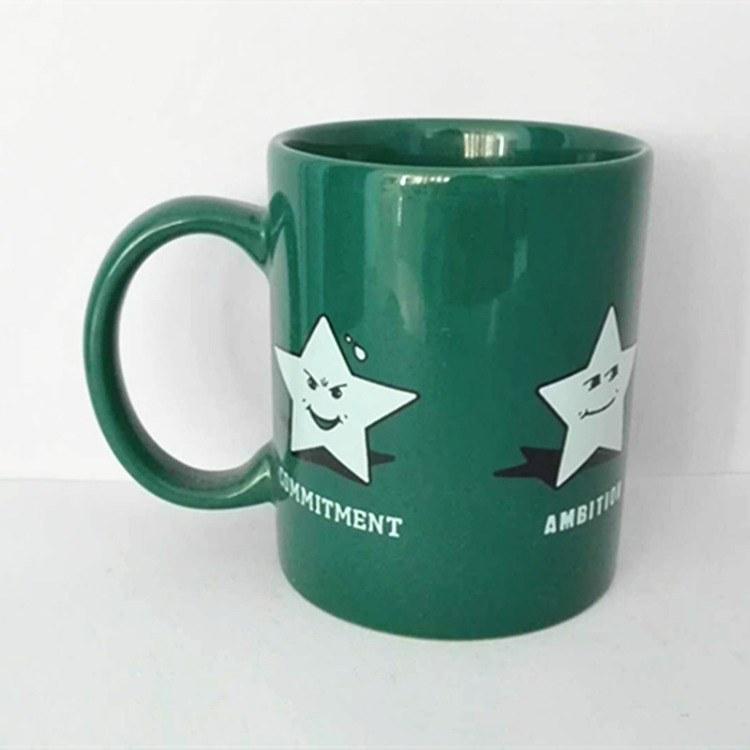 直身陶瓷广告杯子定制 单层直身陶瓷 供应促销广告杯子定制 厂家批发