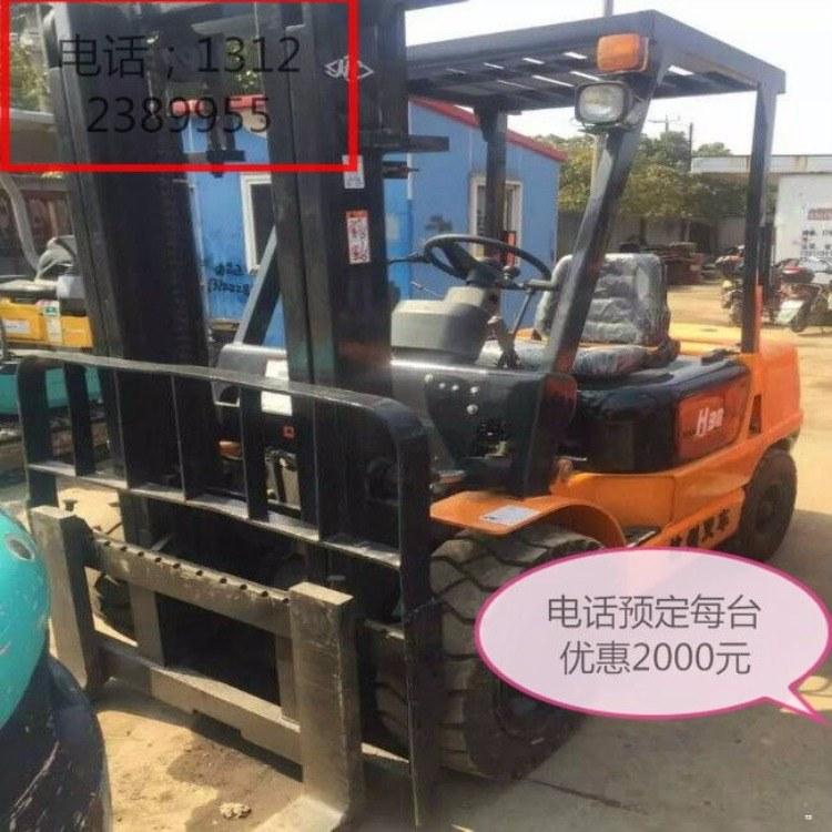 蚌埠五河县二手进口小松电动夹抱堆高叉车直销