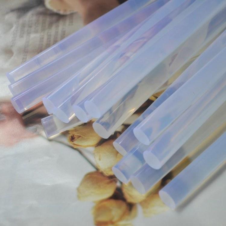高粘不拉丝热熔胶棒 透明热熔胶棒厂家直销根数批发出售