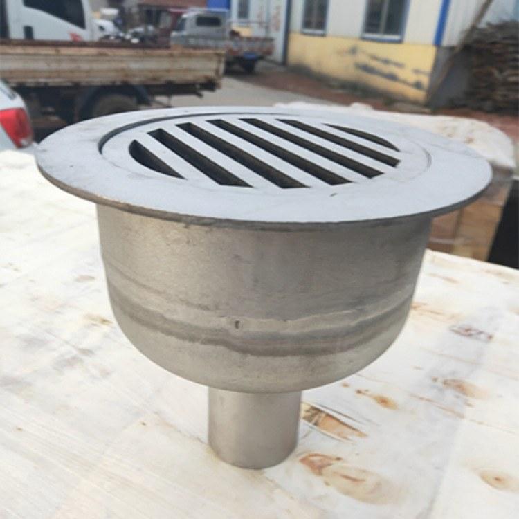 工厂工程定制圆形地漏(带水封)密封式地漏DN100不锈钢防臭地漏 直通式地漏 规格齐全保证质量