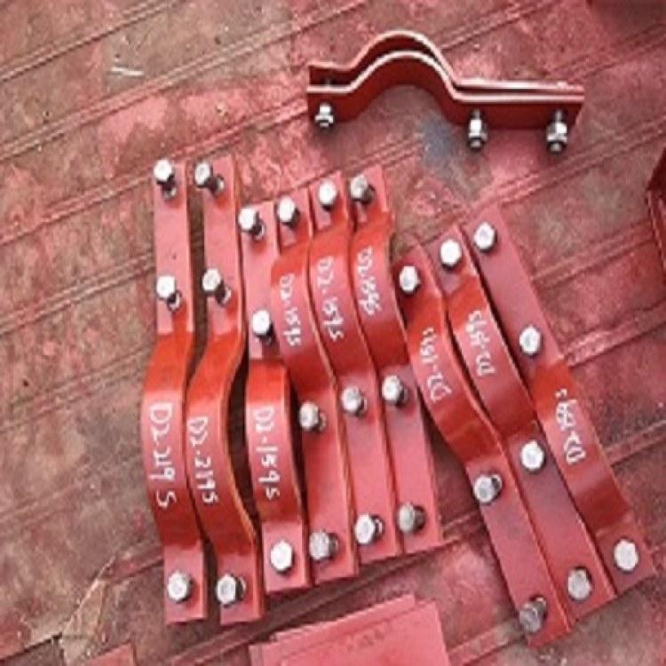 捌方管道厂家生产直销质优价廉三孔短管夹