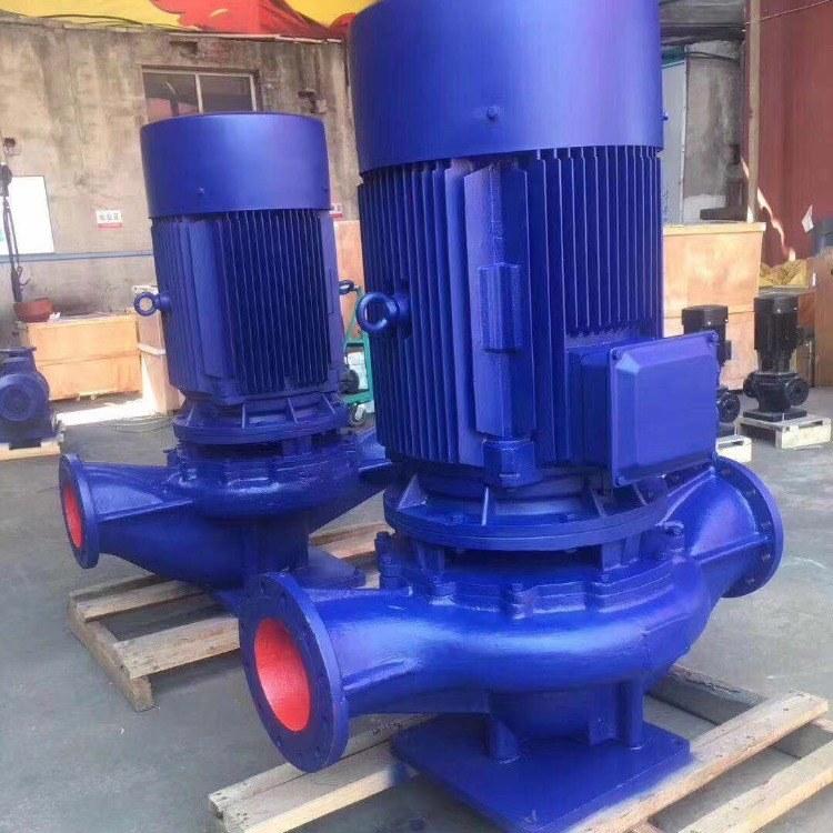 管道离心泵 耐腐蚀离心泵  敞开式叶轮 ISG80-160 威泉泵业直销
