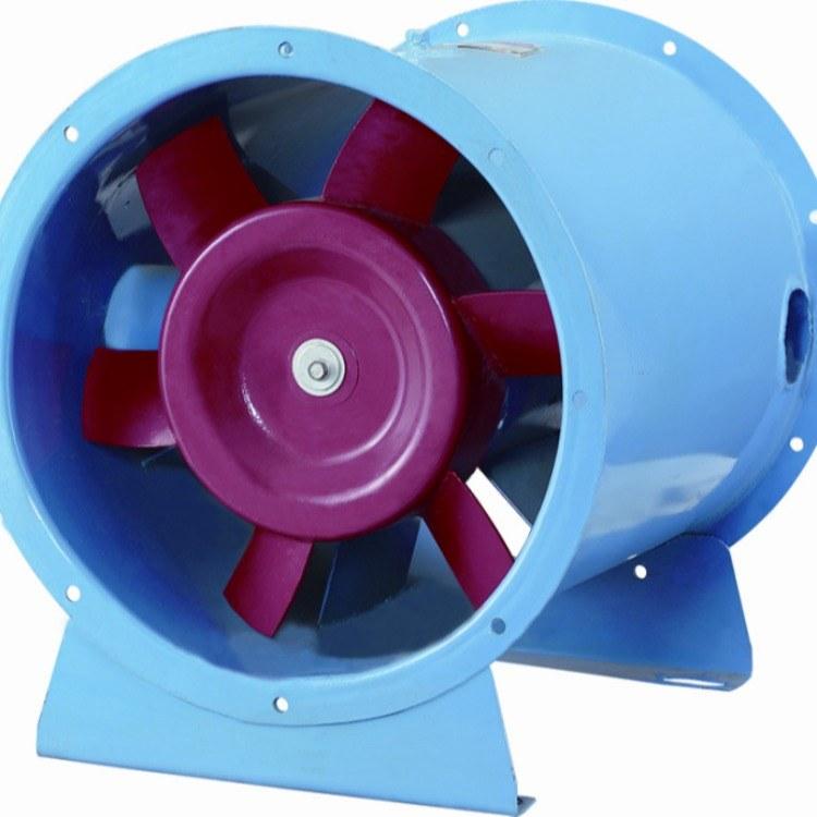 合肥 兴益HTF-1-0.7系列消防高温排烟轴流风机  双速防爆耐高温消防风机 厂家