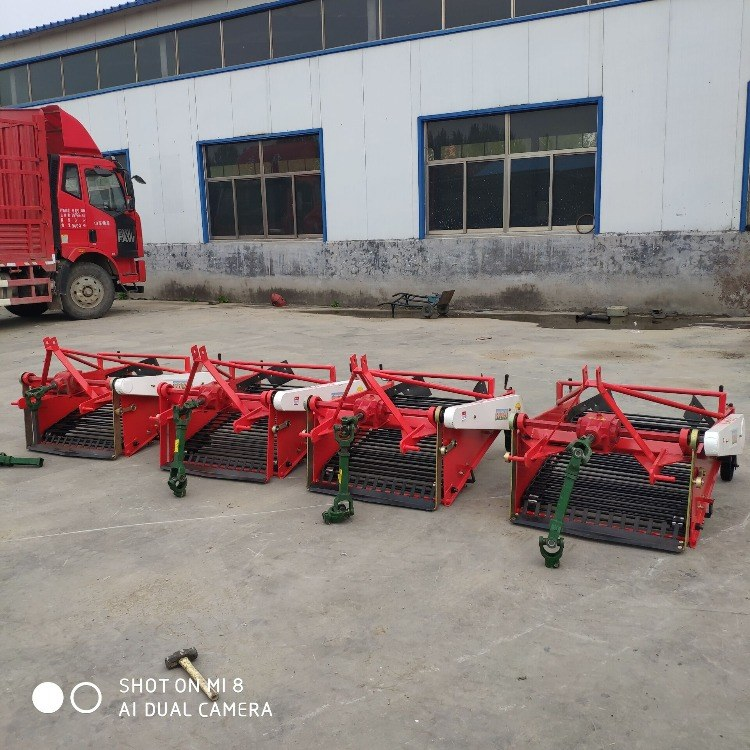 富强 小型两轮拖拉机土豆收获机 带薯类收获机 红薯挖掘机