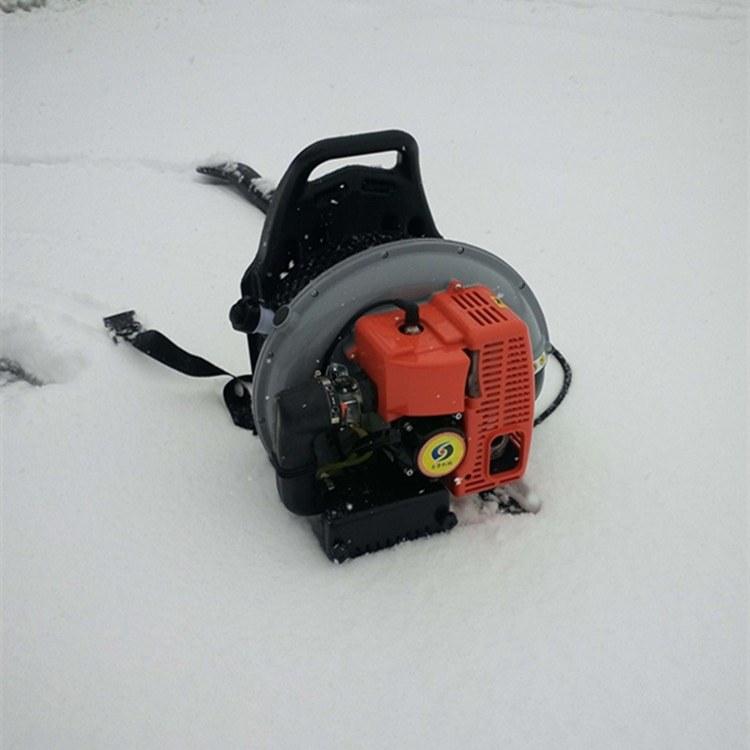 富强 冬季大棚背负式吹雪机  混合油吹雪机
