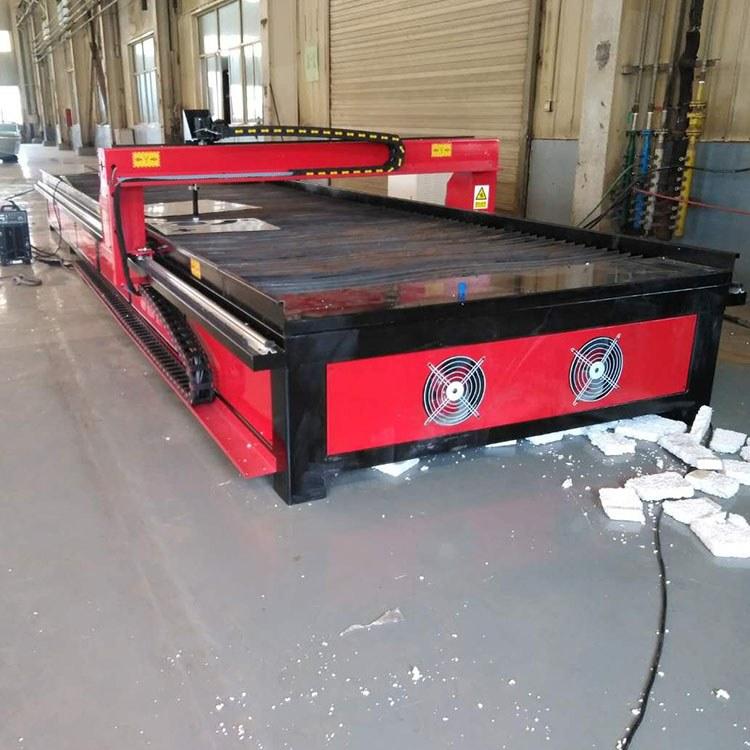 程煤台式管板切割机 不绣钢板专用切割机 圆管板材两用数控等离子切割机
