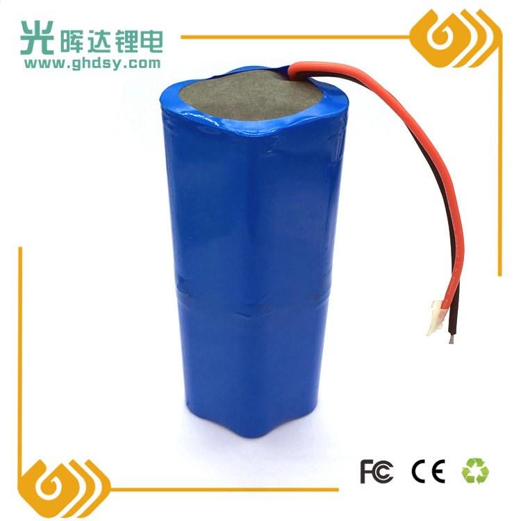 光晖达厂家生产加工7.4V电动工具锂离子动力电池 8000mah18650锂电池组串联并联组合定制