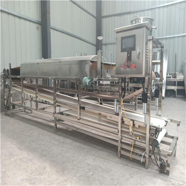 全自动蒸汽式粉皮机 圆形粉皮机生产厂家
